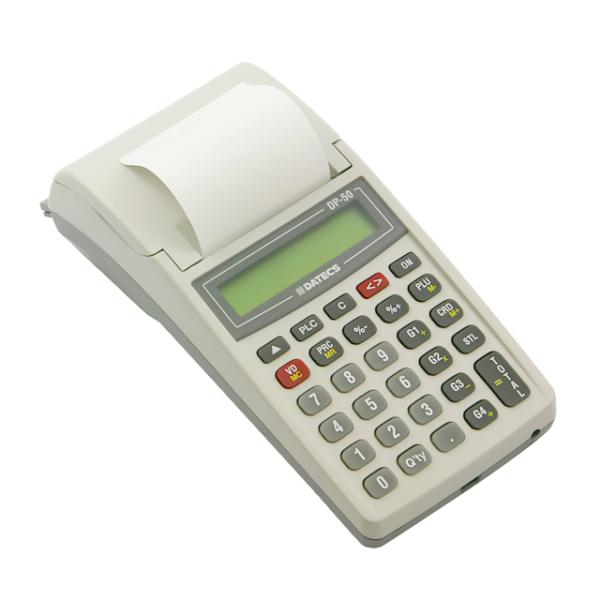 fiškálna registračná pokladňa so zabudovanou batériou, DATECS DP-50/F