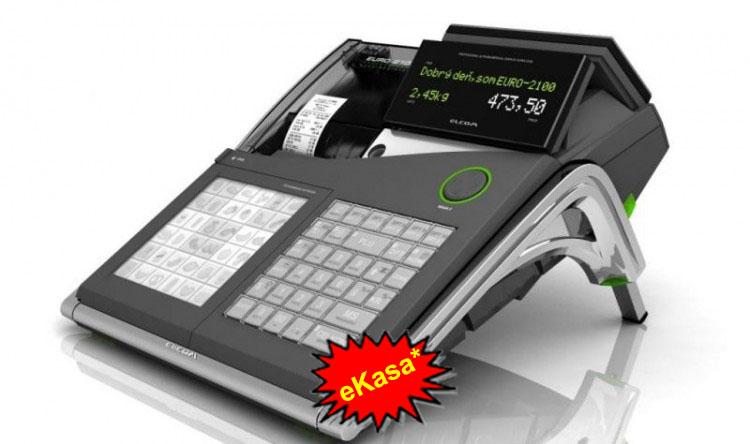 fiškálna pokladnica Elcom Euro-2100TE