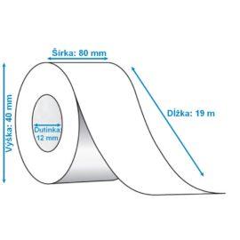 Termo pásky rozmer 80 mm