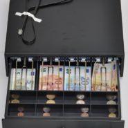 Pokladnicna zasuvka CD-330 K cierna