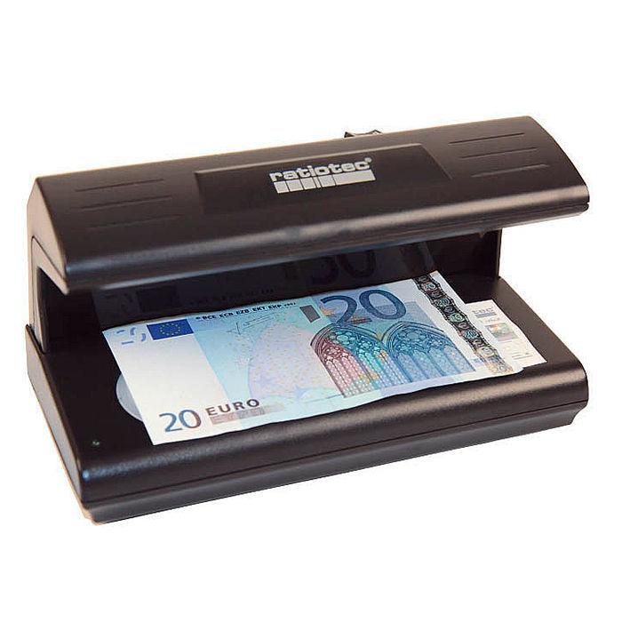 Ratiotec Soldi 185, Tester bankoviek s UV a bielym svetlom