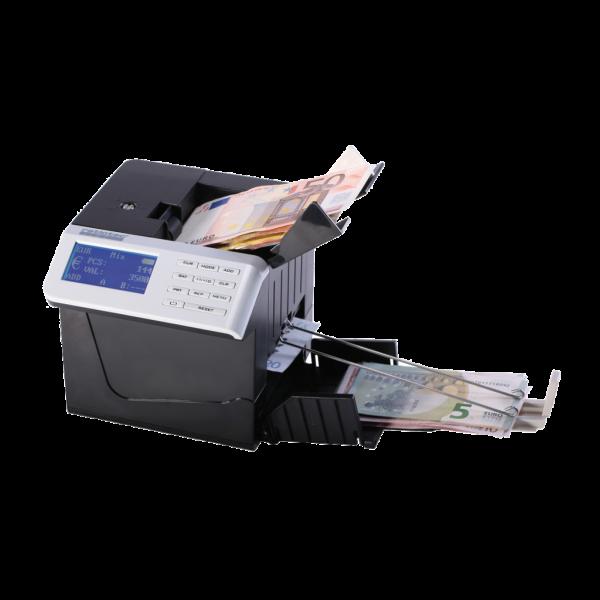 Počítadlo bankoviek ratiotec quickcount Compact