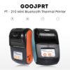 GOOJPRT PT-210 - Bluetooth tlačiareň pre tlač dokladov z VRP aplikácie