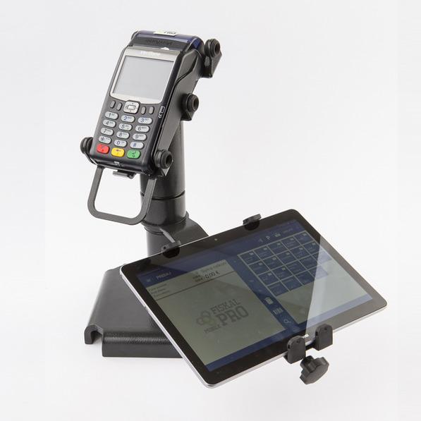Zostava FiskalPRO VX 675 dotykovy pokladnicny system s tabletom a mobilnym platobnym terminalom