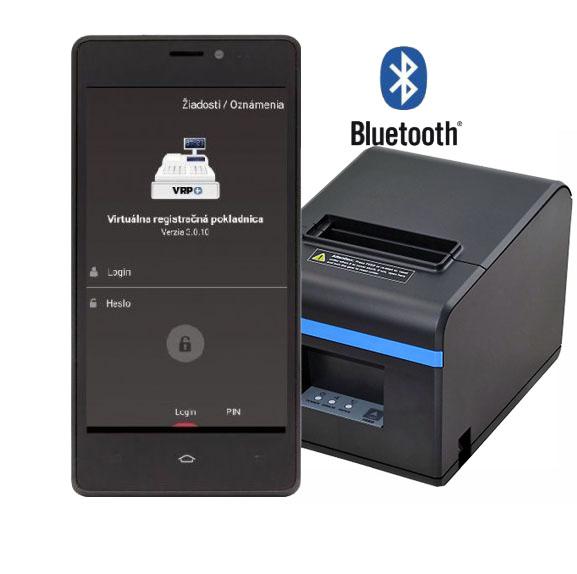 Tlačiareň ExVAN N80II Bluetooth+USB pre VRP