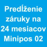 Predĺženie záruky na 24 mesiacov pre VRP ExVan MiniPOS 02