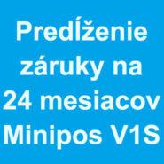 Predĺženie záruky na 24 mesiacov pre elio miniPOS V1S