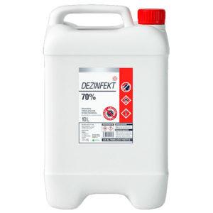 Dezinfekt 70% 5 litrov - Univerzálny liehový dezinfekčný prostriedok na báze bioetanolu