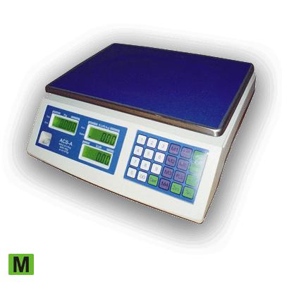 Obchodná Váha ACS IP-52