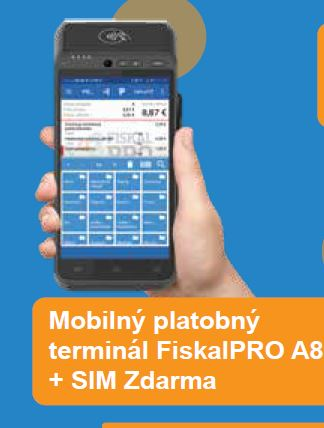 Platobný Terminál FiskalPRO A8
