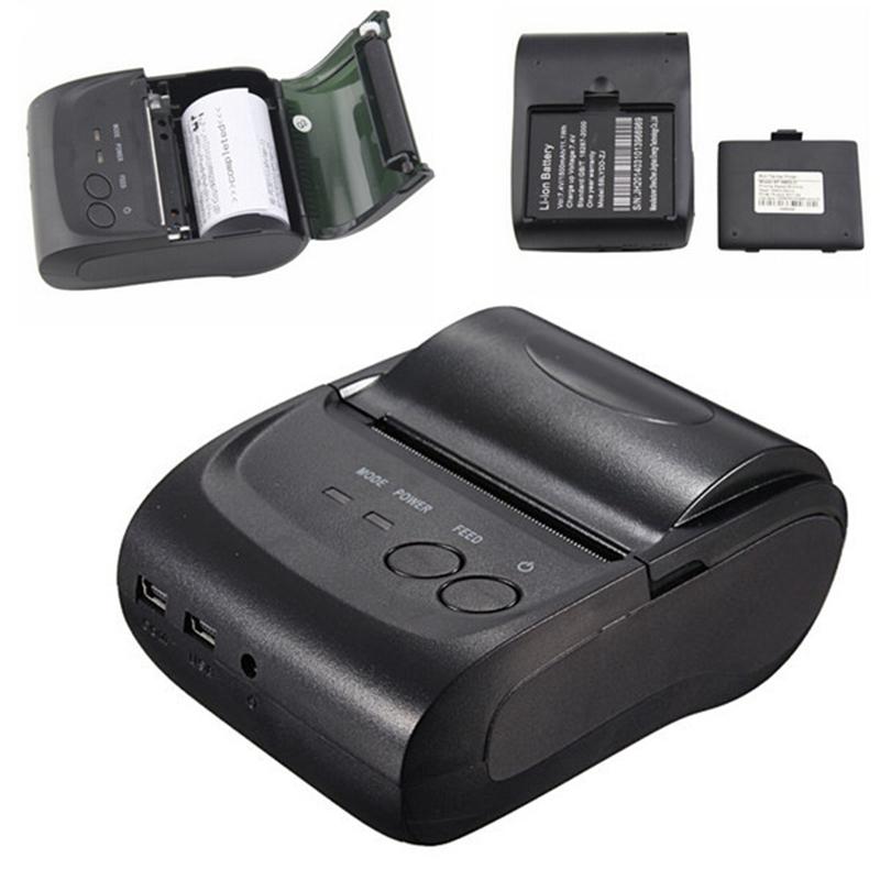 ZJ-5802 - Bluetooth tlačiareň pre tlač dokladov z VRP aplikácie