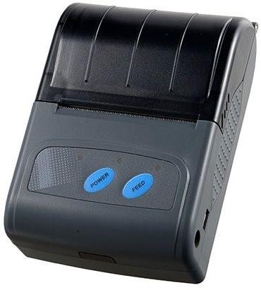 CASHINO prenosná termotlačiareň PTP-II, rýchlosť 50-80mm/S, až 58mm rozmer papierovej pásky, USB, bluetooth, výdrž batérie až 8 hodín