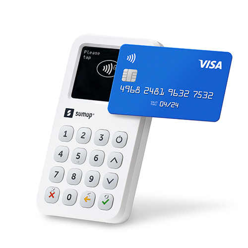 SumUp 3G platobný terminál pre platbu kartou