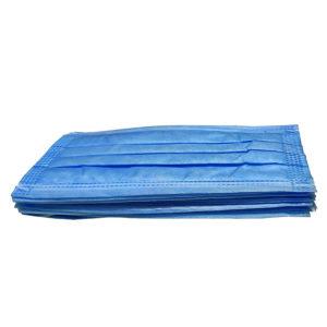 Ochranné rúška jednorázové 3-vrstvové vysokej kvality z netkanej textílie