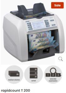 Ratiotec Pocitacka bankoviek T200