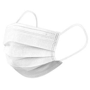 A.L.K.A. Ochranné rúška BIELE jednorazové 3-vrstvové vysokej kvality z netkanej textílie