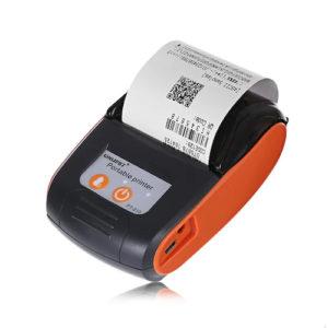 Goojprt PT-210 - termálna minitlačiareň pre tlač pokladničných dokladov z VRP oranžová
