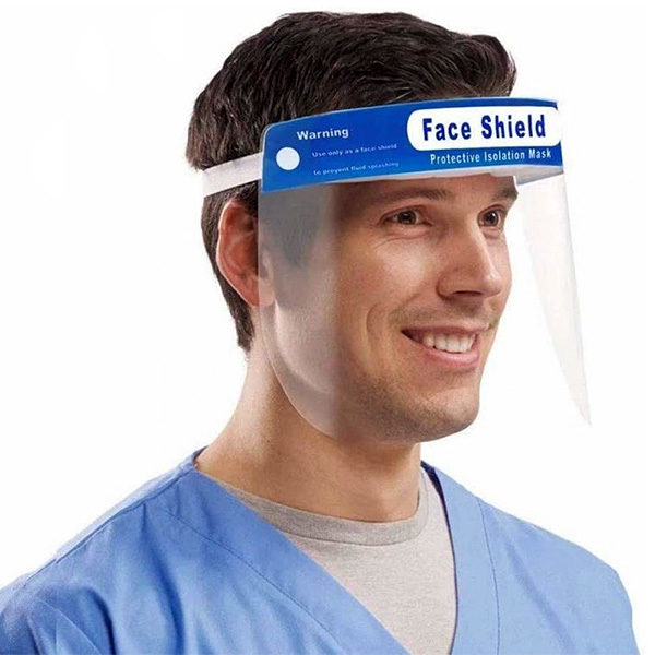 Ochranný štít na tvár s CE certifikátom