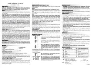 SAFECARE Bio-Tech Certifikovaný Rýchly Test protilátok IgM/IgG na Covid-19