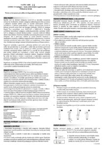 SAFECARE Bio-Tech Certifikovaný Antigénový Test