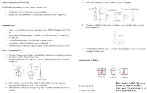 COVID-19 Certifikovaný Antigénový test zo SLÍN- senzitivita: 98,04%, špecificita: 99,33% - 5 kusov