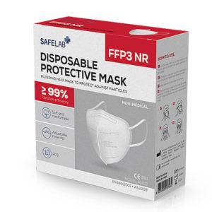 Respirátor FFP3 bez výdychového ventila, certifikovaný, účinnosť nad 99%