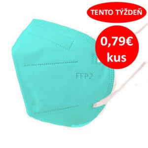 Respirátor FFP2 vyrobený v EÚ - Modrý