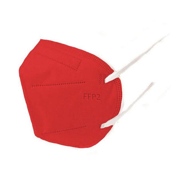Respirátor FFP2 vyrobený v EÚ - Červený