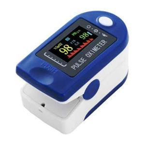 Pulzný Oximeter Fingertip na zachytenie nízkej hladiny kyslíka v krvi