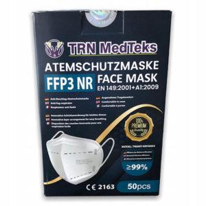 Premium FFP3 respirátor, certifikovaný, účinnosť nad 99%